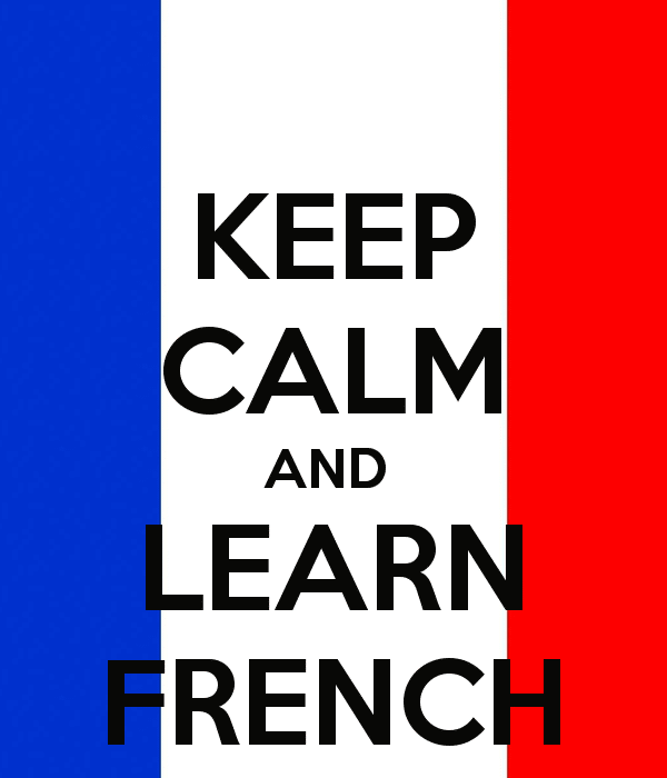 Bonjour mes amis …. Learning French !