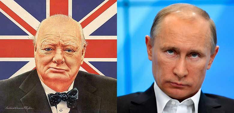 Putin-Churchill